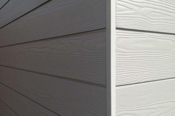 Fassadenverkleidung mit Cedral Click Faserzemenpaneele