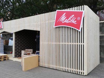 Holzbau - für die Firma Melitta